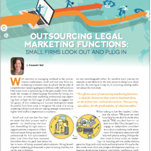 Outsourcing Legal Marketing Functions